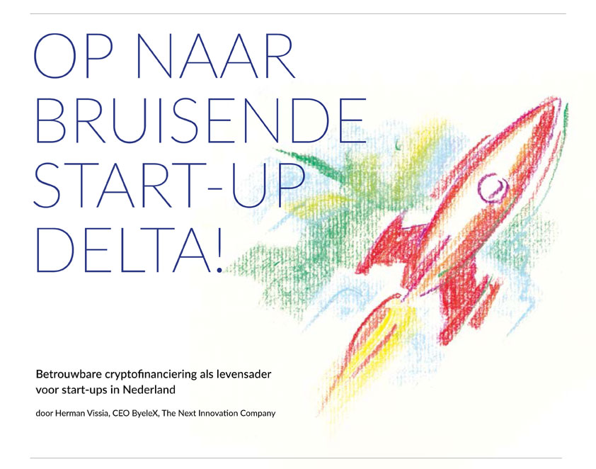 eBook 'Op naar bruisende start-up delta' door Herman Vissia